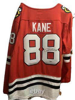 Patrick Kane Autographed Fanatic Jersey, Fanatics COA