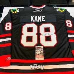 Patrick Kane Signed Authentic Chicago Blackhawks Game Model Jersey JSA COA