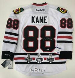 Patrick Kane Signed Chicago Blackhawks Rbk Premier Stanley Cup Jersey Psa/dna