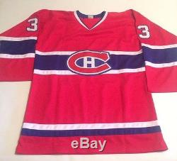 Patrick Roy Autographed Montreal Canadiens Custom Red Jersey JSA COA