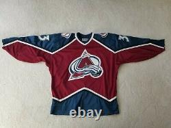 Patrick Roy Autographed NHL Jersey Colorado Avalanche Starter with Fight Strap