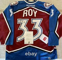 Patrick Roy Colorado Avalanche #33 Signed Autographed Authentic Jersey w COA