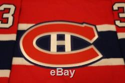 Patrick Roy Signed Coa CCM Montreal Canadiens 1993 Stanley Cup Jersey