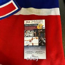 Patrick Roy Signed Colorado Avalanche Authentic CCM Game Model Jersey JSA COA