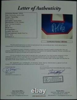 Patrick Roy signed Autographed Montreal Canadiens Hockey Jersey (1993 Cup) JSA