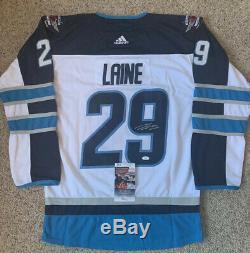 Patrik Laine Signed Autographed Winnipeg Jets Hockey Jersey NHL Finland JSA COA
