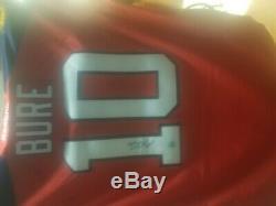 Pavel Bure Florida Panthers Autographed Reebok Premier Hockey Jersey