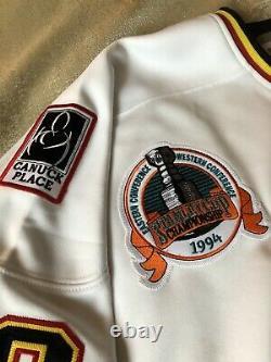 Pavel Bure Signed Autographed Vintage CCM Jersey Stanley Cup Final 94 Vancouver