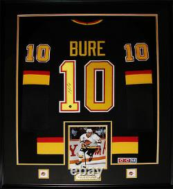 Pavel Bure Vancouver Canucks Signed jersey NHL Hockey Collector Frame