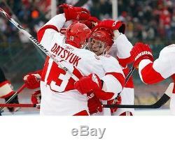 Pavel Datsyuk Signed Detroit Red Wings Winter Classic CCM Jersey Psa/dna Coa