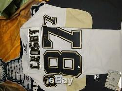 Penguins-SIDNEY CROSBY Autographed/Signed Licensed NHL Jersey withFRAMEWORTH COA
