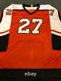 Philadelphia Flyers Ron Hextall Autographed Signed Jersey Jsa Coa