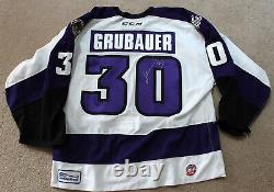 Philipp Grubauer Game Issued/Autographed Reading Royals Jersey
