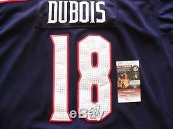 Pierre-Luc Dubois Autographed Signed Columbus Blue Jackets Jersey JSA Cert COA