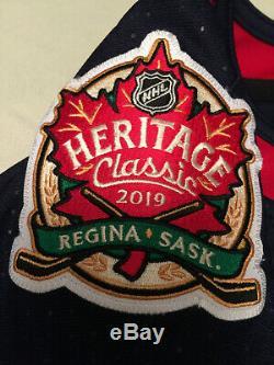 RARE Selanne 2019 Heritage Classic Autographed Winnipeg Jets NHL Adidas Jersey