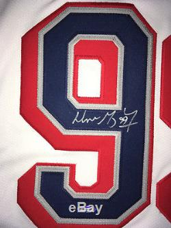 RARE Wayne Gretzky Certified Signed Autographed Jersey Rangers White COA