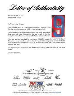 Rangers Wayne Gretzky Authentic Signed White Pro Player Jersey PSA/DNA #V09625