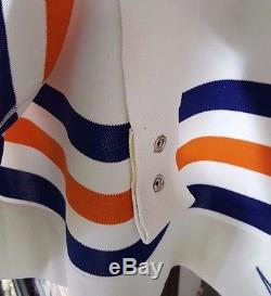Rare Beauty! Classic Wayne Gretzky Nike Pro 54 Edmonton Oilers Game Jersey Tags