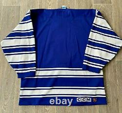 Rare Toronto Maple Leafs Authentic CCM Limited Edition Jersey 1931 Heritage