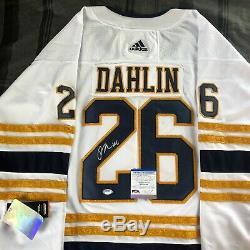 Rasmus Dahlin Signed Buffalo Sabres Alternate Jersey Autographed Auto + Psa Coa