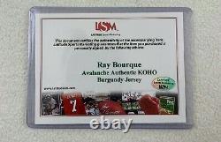 Ray Bourque Authentic Avalanche KOHO Signed Jersey LSM COA