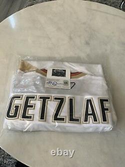 Ryan Getzlaf Autographed/Signed Jersey COA Anaheim Ducks