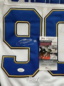 Ryan O'Reilly Autographed St. Louis Blues Jersey JSA Certified COA NICE