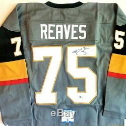 Ryan Reaves Las Vegas Signed Authentic Style Jersey Beckett Authenticated