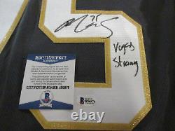 Ryan Reaves Signed Vegas Golden Knights Fanatics Jersey Beckett Bas Coa H30733