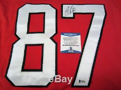 SIDNEY CROSBY Team Canada SIGNED Autographed JERSEY with BAS COA 2014 Olympics XL