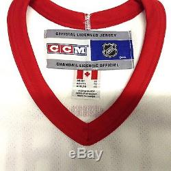 Sergei Fedorov Signed 94 Mvp Detroit Red Wings White CCM Jersey Psa/dna Coa