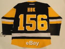 Shawn Michaels Signed #156 Hbk Pittsburgh Penguins 2016 Stanley Cup Jersey Proof