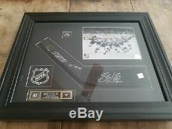 Sidney Crosby GAME USED Autographed Stick Blade Signed Framed with COA Frameworth