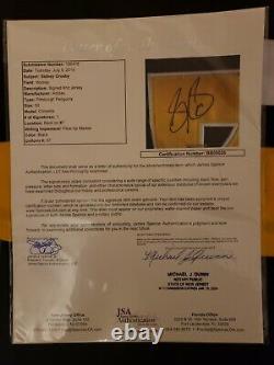Sidney Crosby Pittsburgh Signed Auto Black Pro Adidas Jersey JSA COA