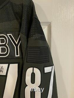Sidney Crosby Signed Military Appreciation Jersey Limited Edition Out of 87