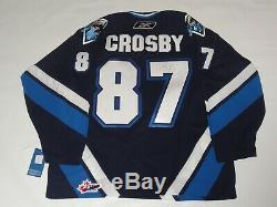 Sidney Crosby Signed Oceanic Rimouski Jersey Penguins Licensed Proof Jsa Loa