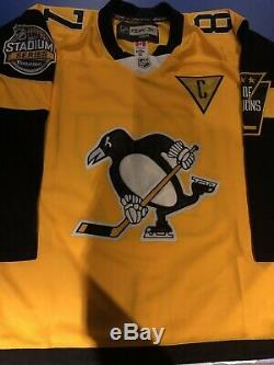 Sidney Crosby Signed Pittsburgh Penguins 2017 Stadium Series Jersey