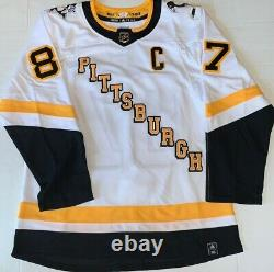 Sidney Crosby signed Penguins Reverse Retro Adidas jersey LE #131/187 Frameworth