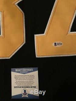 Sidney crosby signed Replica jersey Penguins Beckett Coa Size 52 (large-Xl)