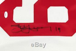 Steve Yzerman Signed Red Wings Hockey Jersey JSA Auto