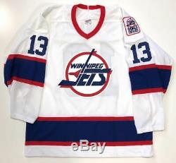 Teemu Selanne Signed Winnipeg Jets CCM Jersey Beckett Coa H71024