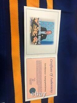 Tom Barrasso Autograph Jersey Ccm Vintage AJ Sports Buffalo Sabres