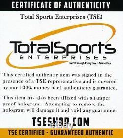 Tom Barrasso Signed Pittsburgh Penguins Jersey (TSE COA)