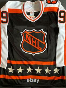UNIQUE Wayne Gretzky Signed 1990 Campbell All Star Jersey JSA And JIC COAs