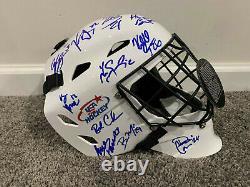 USA WOMEN'S HOCKEY 2018 Olympics Gold Medal Team SIGNED Goalie Mask withCOA Knight