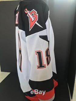 Vintage Buffalo Sabres Miroslav Satan Home Jersey NHL CCM Sewn sz XL