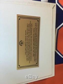 WAYNE GRETZKY Authentic Signed Edmonton Oilers Jersey Upper Deck COA /250