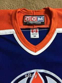 WAYNE GRETZKY Edmonton Oilers Autographed Blue CCM Jersey WGA COA