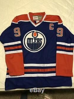 WAYNE GRETZKY Edmonton Oilers SIGNED Autographed JERSEY SIZE 52 Lowest I Will Go