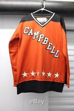WAYNE GRETZKY SIGNED Autograph ALL STAR GAME CCM CAMPBELL JERSEY BAS